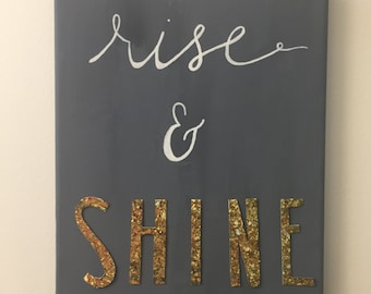 Rise and Shine Canvas Painting
