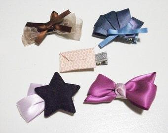 lovely hair clip set