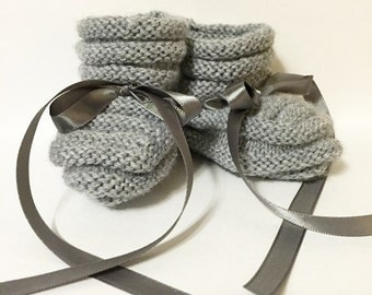 Classic Southern Baby Booties - READY FOR PURCHASE