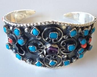 Vintage Silver Taxco Mexican bracelet