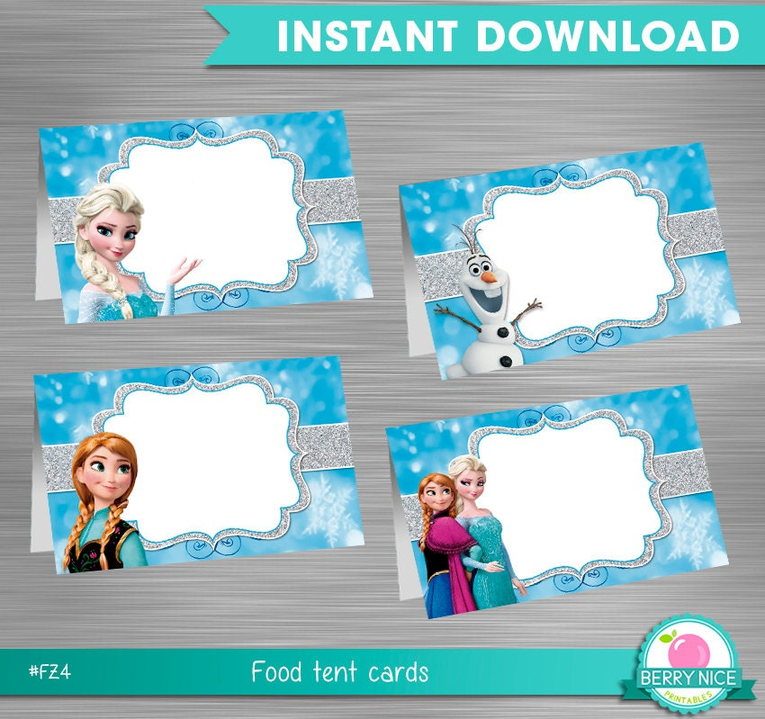 It is a graphic of Slobbery Frozen Food Labels Free Printable