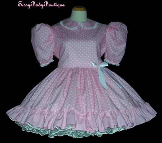 Adult Dress Pink Sissy 65