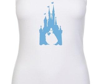 Disney Inspired Cinderella Castle Princess Vacation Racerback tank top 6633