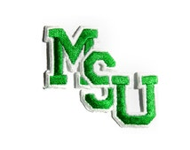 MSU Spartans Patch Michigan State University College NCAA Vintage Embroidered Iron On Applique Patch