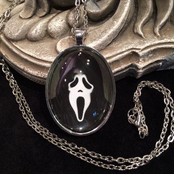 classic 1996 horror movie scream ghost face bronze