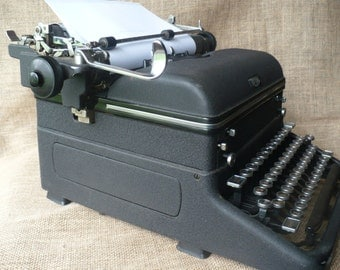 Vintage Royal Typewriter Touch Control, Vintage Office