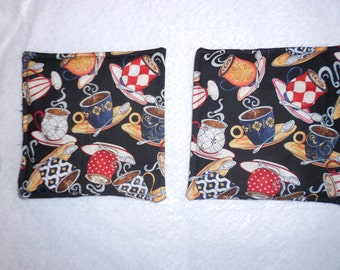 Decorative quilted potholders