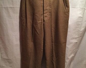"WW2/Korean U.S Army Service Uniform Pants In Large Size 32""/33"""
