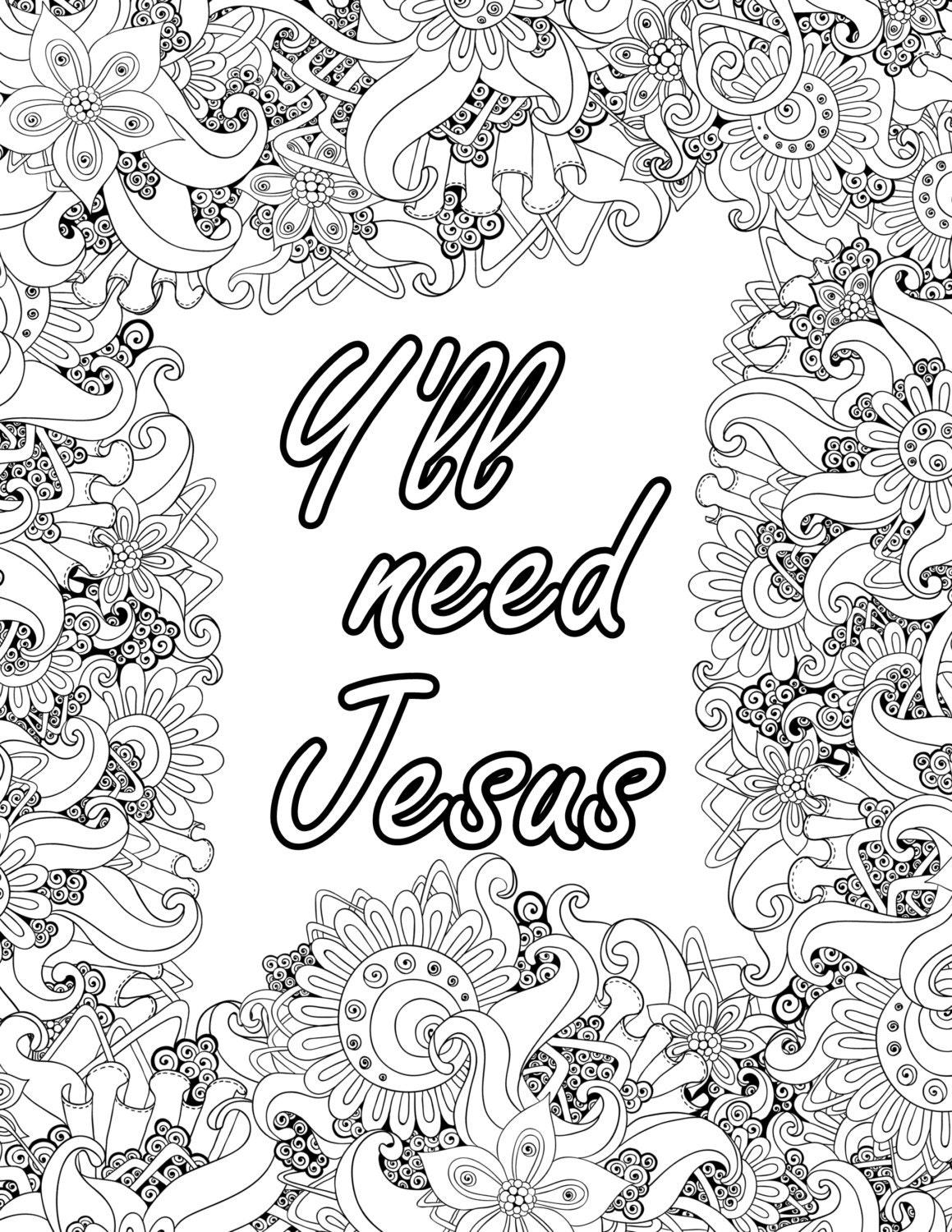 teen spiritual coloring pages - photo#24