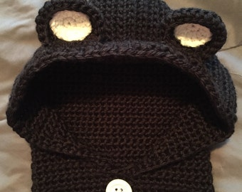 Hooded Cowl Neck Hat