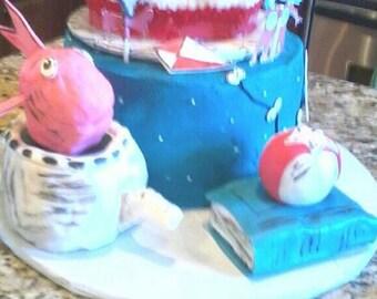 Dr. Seuss edible cake decorations