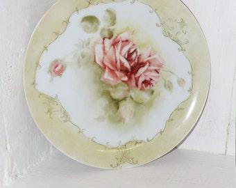 Hand Painted Plate Janet Elliott - 102