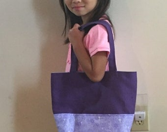 Purple Diaper Bag, Doll Diaper Bag, Diaper Bag for Dolls, Kid's Diaper Bag, Purple Diaper Bag, Nappie Sack, Gifts for Girls, Playing House