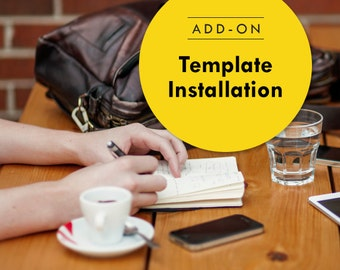 Blogger Template Installation, Social icons, Gadgets, Search and Follow by Email widget | Add on