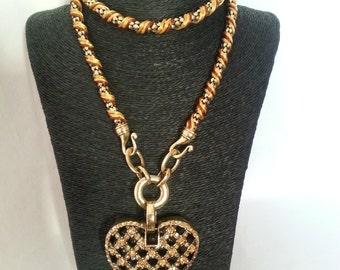 Bright heart pendant