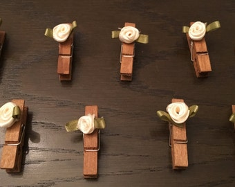 Set of 20 - Cute Clothes Pins