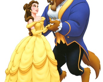 Disney cross stitch pattern Beauty and the Beast cross stitch