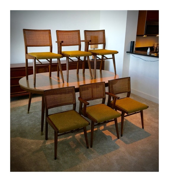 Dining Room Manufacturers: Mid Century Modern Holman Manufacturing Co. Dining Room Set