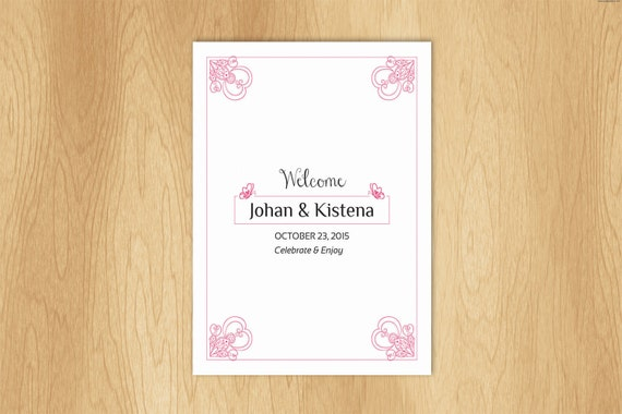 Wedding Gift Bag Label Template : Wedding Welcome Basket Tag Wedding Favor tag Template wedding bag ...
