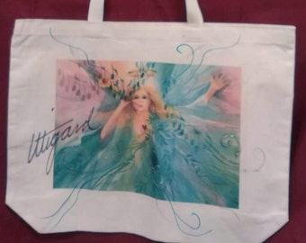 Celestial Music - Hand Embellished Tote Bag