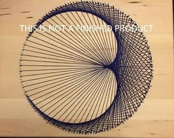DIY Kit - Geometric Cardioid String Art