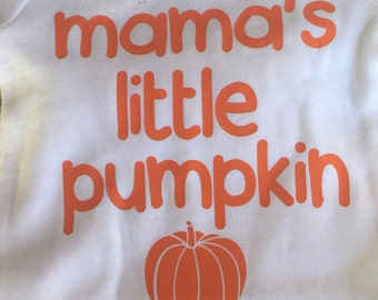 Mama's Little Pumpkin