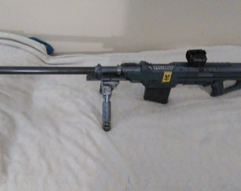 Halo Sniper Rifle fully functional Nerf gun replica