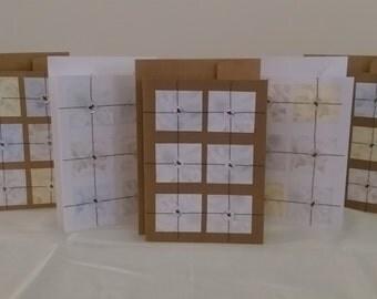 Handmade button cards