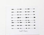 Planner stickers: Arrows | Perfect for your filofax / erin condren planner etc