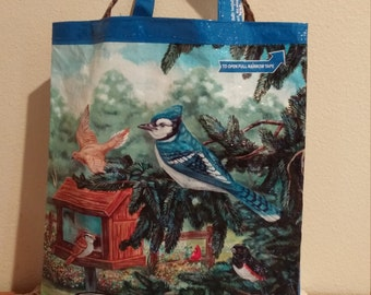 Birdlover's Feedsack Tote Bag