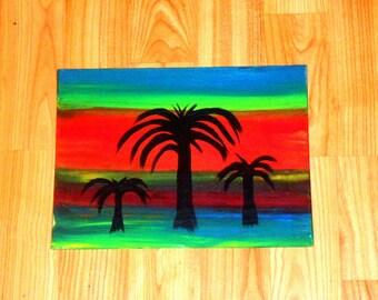 "original oil painting ""desert dream"""
