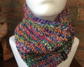 Hand Knitted Jaks Snood/Neck Warmer