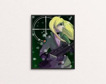 SNIPE ME - 8x10 print