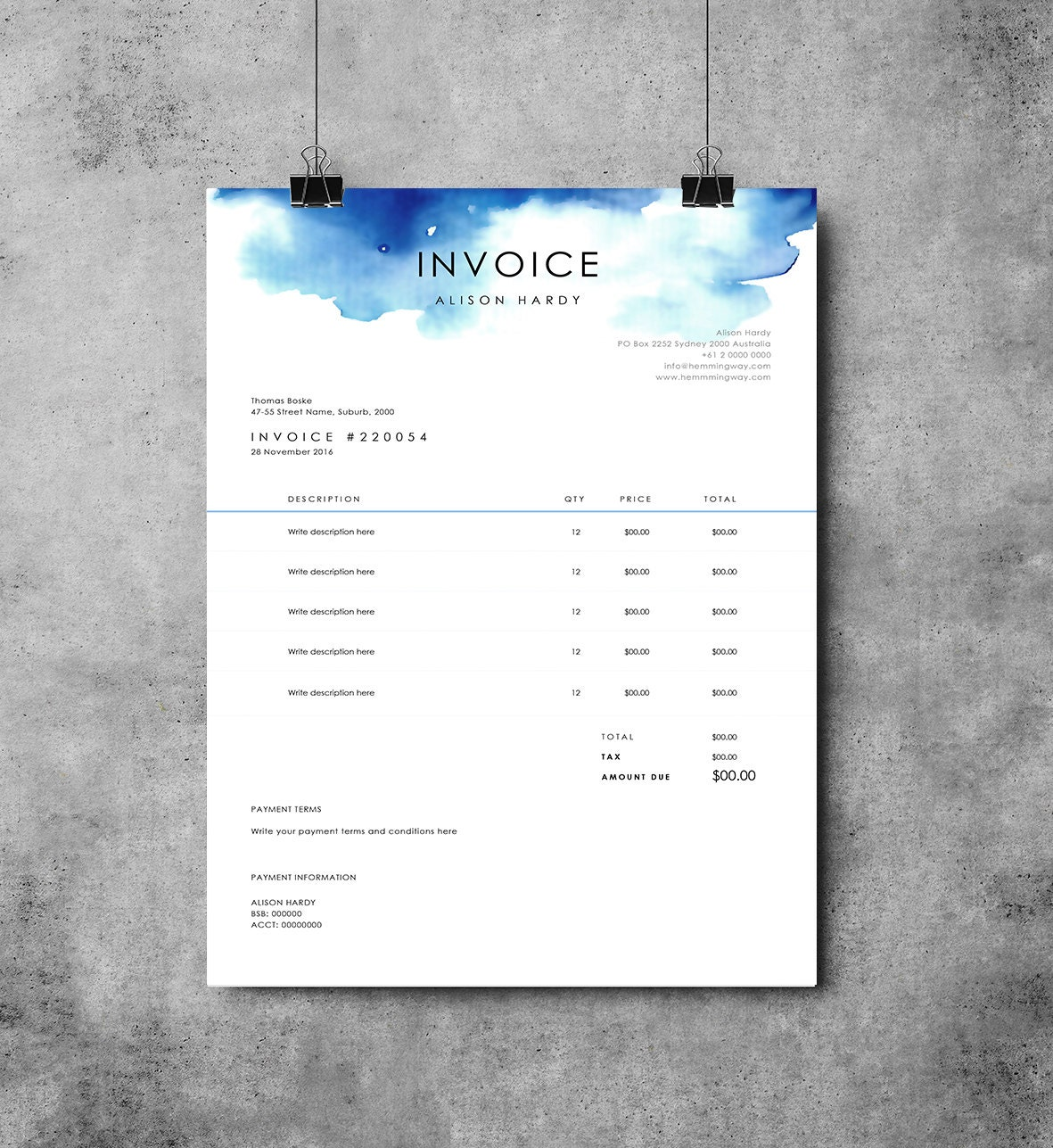 simple invoice template and invoice template microsoft word pdf