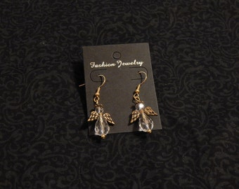 Angle earring - gold