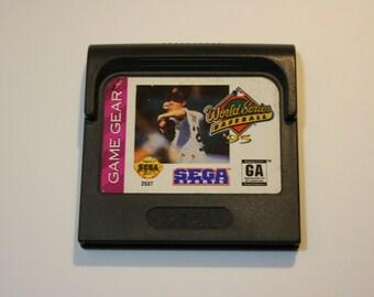 World Series Baseball '95 Sega Game Gear