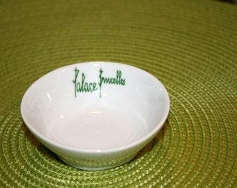 Palace Bruxelles Dish//La de Boudour Made By Cerabel Belgium//Candy - Nut Dish//Vintage Belgium Dish