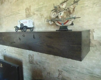 Mantel,distressed mantel , all hardwood,fireplace shelf