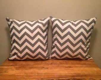 Zig Zag Throw Pillows