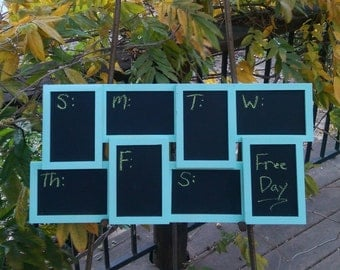 Hand-painted Sectioned Chalkboard