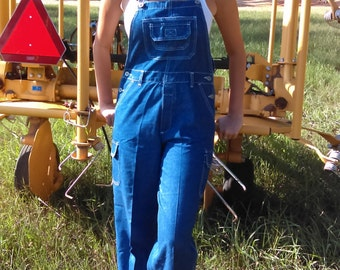 Vintage Jean Overall By  Limited Too Size Small-medium