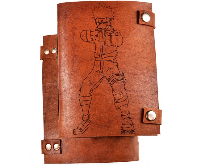 Naruto notebook - Naruto journal - Naruto sketchbook - Naruto Diary - Naruto gift - Naruto Uzumaki - Anime journal - Anime notebook