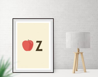 Art print / / Apple Z