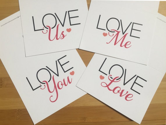 Choose a Love Greeting card, LOVE You, Love Me, Love Us, Love LOVE, Love Note cards, Send Love Today!
