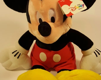 Mickey Mouse Plush from The Disney Store. AS IS.