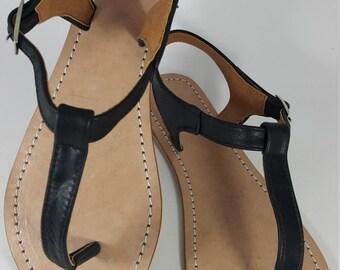 P Labu Bali Leather Sandal