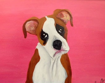 Custom Pet Portraits by Sherry