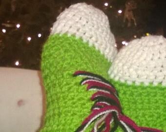 Happy Feet bootie slipper socks