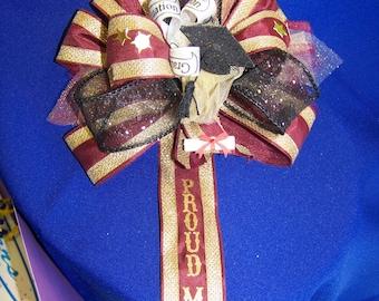 Graduate Proud Mom  Ribbon Corsage