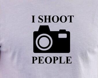 Camera print t-shirt